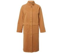Mantel Lyocell- beige / orange