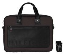 Handtasche »TH Metropolitan Computer Bag« grau / schwarz