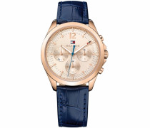 Multifunktionsuhr »Sophisticated Sport 1781703« blau / gold