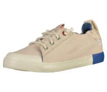 Sneaker nude / blau