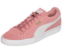 Suede Classic Sneaker Damen altrosa / weiß