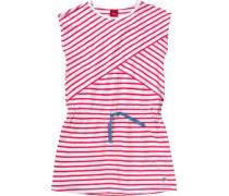 Kinder Jerseykleid blau / pink / weiß
