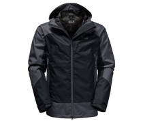 'North Slope' Funktionsjacke schwarz