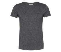 T-Shirt in Melange-Design dunkelgrau
