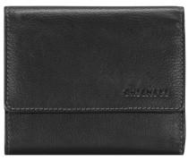 Vermentino Geldbörse Leder 125 cm schwarz