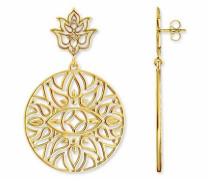 Paar Ohrstecker »Mandala-Ornamentik 'd_H0008-924-39' gold
