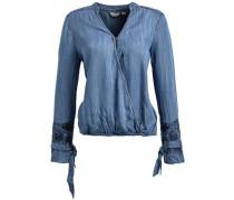 Bluse 'nektarina' blue denim