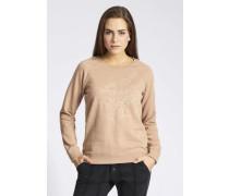 Sweatshirt 'renia' beige