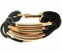 Armband 'Ella' gold / schwarz