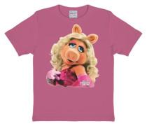 T-Shirt Miss Piggy - Portrait pink