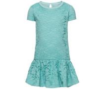 Kleid mit kurzen Ärmeln 'nitgunni' blau / türkis