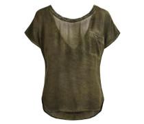 Bluse Rückendetail- grün