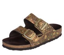 Sandale 'Arizona Hex' braun