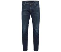 Straight Fit -Jeans blau