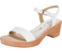 Sandaletten 'Irita ' weiß