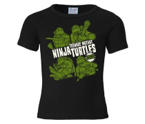 "T-Shirt ""Ninja Turtles"" schwarz"