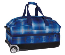 Premium Travel Bag Large 2-Rollen Reisetasche 80 cm blau
