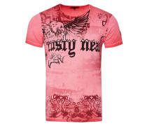 Cooles T-Shirt mit Allover-Print