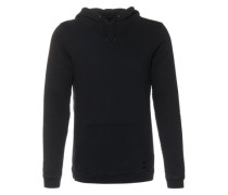 Kapuzen-Sweatshirt 'Rasmus' schwarz