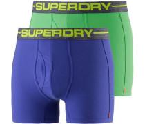 Boxer Herren blau / grün