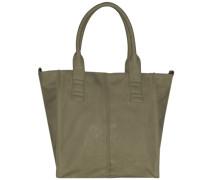 Anne Vintage Shopper Tasche 34 cm grün