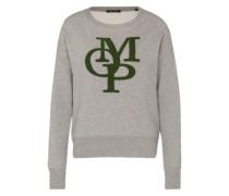 Sweatshirt mit Patches stone