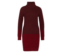 Pullover-Kleid rot