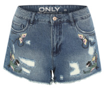 Shorts 'ONLPacy' blue denim / mischfarben