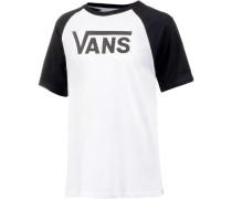 'classic T-Shirt' Herren schwarz / weiß