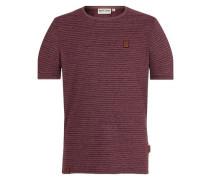 T-Shirt 'Hosenpuper X' bordeaux / schwarz
