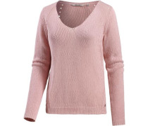 Strickpullover Damen rosa