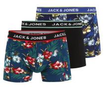 Boxershorts 'jacflower' mischfarben