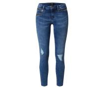 Jeans 'vmseven MR Slim ZIP ANK Jeans'