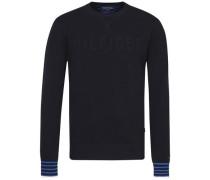 Sweatshirt 'falko C-Nk CF' nachtblau