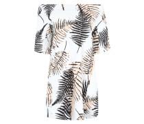 Oversized-Kleid 'Tebe' mischfarben / weiß
