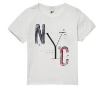"Hilfiger Denim T-Shirt ""thdw CN T-Shirt S/S 35B"" weiß"