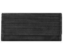 FREDsBRUDER Halb & Halb Geldbörse Leder 19 cm schwarz