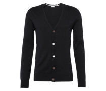 Cardigan 'button cardigan' schwarz