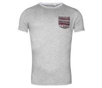 T-Shirt 'MT Session' silbergrau