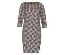 Kleid mit Allover-Print mischfarben