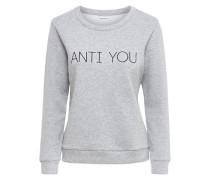 Sweatshirt Bedrucktes grau