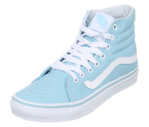 Hohe Sneaker hellblau / weiß