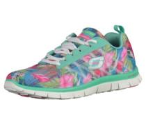 Sneaker blau / türkis / pink