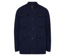 Freizeitjacke 'Vodan Worker Overshirt l/s' dunkelblau