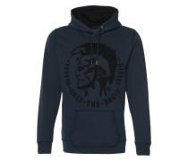 Kapuzen-Sweatshirt 'S-Agnes' blau