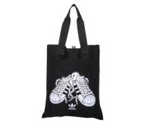 Einkaufstasche 'Shopper Sst' schwarz / weiß
