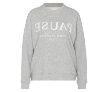 Sweatshirt 'Apo' graumeliert