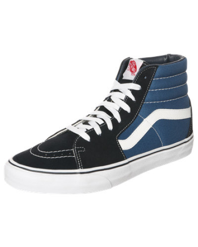 vans damen vans high top sneaker 39 sk8 hi 39 navy reduziert. Black Bedroom Furniture Sets. Home Design Ideas