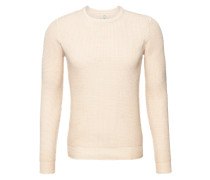 Pullover 'Crane' beige