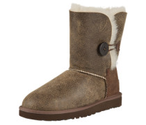 Stiefel mit Lammfell 'Bailey Button Bomber' stone